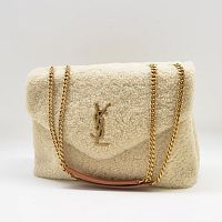 Сумка Saint Laurent  Monogram LouLou medium из овчины  R-953