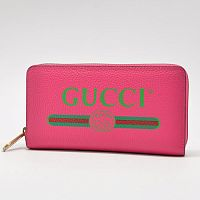 Кошелек Gucci Print leather LE-491